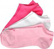 Носки Puma UNISEX SNEAKER PLAIN 3P р. 39-42 красно-розово-белый