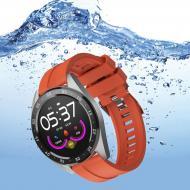 Смарт часы Smart Watch X10 Fitness / Умные фитнес часы спортивные фитнес-трекер с пульсометром Оранж