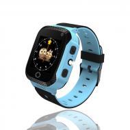 Детские умные часы Smart Watch Baby Q02 GPS трекер Blue (sw010-hbr)
