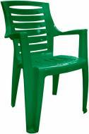 Стілець пластиковий Алеана Рекс 87x63x56 см зелений