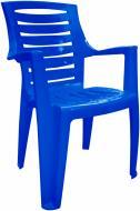 Стілець пластиковий Алеана Рекс 87x63x54 см синій