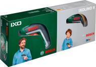 Викрутка акумуляторна Bosch IXO V Basic + іграшковий шуруповерт IXOLINO (06039A800K)