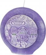 Свічка Lavender Boutique диск 13 см Bartek Candles