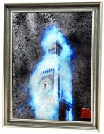 Картина на дзеркалі X8 LONDON IN SILVER №529S 76x95 см СЕАПС