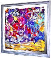 Картина на дзеркалі X10 SOPOT POLAND № 7075 100x100 см СЕАПС