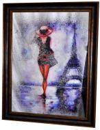 Картина на дзеркалі X8 MADAM IN PARIS №574 76x96 см СЕАПС