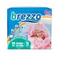Підгузки Brezzo дитячі Junior 26 шт.
