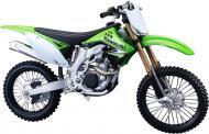 Модель 1:12 мотоцикл зелений 31101-16 Kawasaki KX 450F