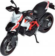 Автомодель 1:12 мотоцикл білий 31101-14 Ducati 2013 Hypermota