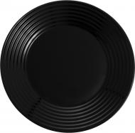 Тарілка обідня Harena black 25 см Luminarc