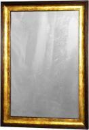 Зістарене дзеркало X6 WE5385-336S в золотій багетній рамі 50х70 смз