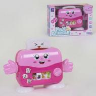 Музыкальный тостер Small Toys 867 Розовый (2-83253A)