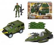 Военный игровой набор Small Toys HW-M2705 Зеленый (2-87488A)