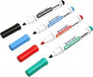 Набор маркеров Centropen для белой доски 2.5 мм 4 шт. 8559/4 разноцветный