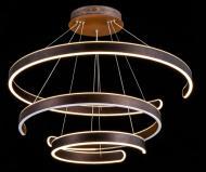 Люстра світлодіодна Геотон GTN-652/3Р 3x150 Вт коричневий