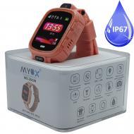 Детские водонепроницаемые GPS часы MYOX МХ-26GW Sport с камерой Розовые