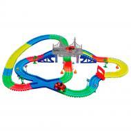 Детская игрушечная дорога Supretto Magic Tracks 360 деталей + 2 машинки (5486)