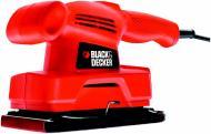 Вібраційна шліфмашина Black+Decker KA300