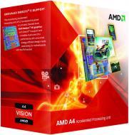 Процесор AMD Box (AD4020OKHLBOX) AMD A4-4020 3.2Gh 1MB 2xCore HD7480D Richland 65W sFM2