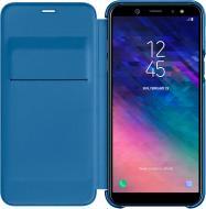 Чохол-книжка Samsung A6+ blue (EF-WA605CBEGRU) EF-WA605