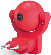 Нічник-розетка Gauss Mood LED з датчиком освітлення 0,5 Вт рожевий