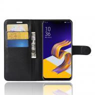 Чехол-книжка Litchie Wallet для Asus Zenfone 5/5Z (ZE620KL / ZS620KL) Black