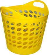 Кошик круглий 20 л жовтий