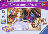 Пазли Ravensburger 2х12 Принцеса Софія 07570