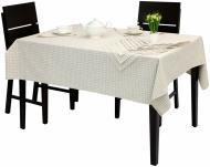 Комплект столовий Клітинка скатертина та 12 серветок 145x300 см Едельвіка