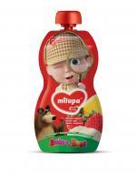 Пюре Milupa Банан, полуниця для дітей від 6 міс 100 г