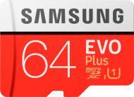 Карта пам'яті Samsung microSDXC 64 ГБ UHS Speed Class 1 (U1) (MB-MC64HA/RU) EVO Plus V2