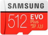 Карта пам'яті Samsung microSDXC 512 ГБ UHS-I Class 3 (U3) (MB-MC512HA/RU) EVO Plus V2