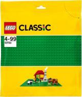 Конструктор LEGO Classic Базова пластина зеленого кольору 10700