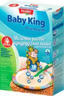 Каша молочная Baby King Premium рисово-кукурузная с пребиотиками 160 г