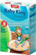 Каша молочная Baby King 5 злаков с пребиотиками 160 г
