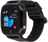 Смарт-часы детские AmiGo GO008 MILKY black