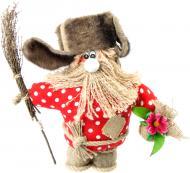 Лялька інтер'єрна Дід зимовий 36х36 см