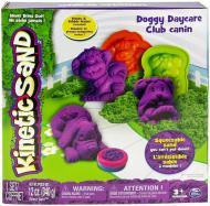 Набір для ліплення піском Wacky-Tivities Kinetic Sand Doggy фіолетовий зелений формочки 340 г 71415Dg