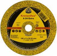 Круг відрізний по металу Klingspor A24 Extra  180x2,0x22,2 мм 10464