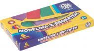 Моделіна  з парчею 6 кольорів 304109001 Astra