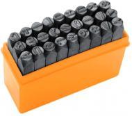 Набір штампів Tolsen 3 мм 27 шт. (A-Z) 25101