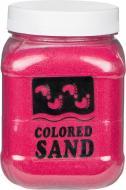 Пісок мармуровий Малиновий 0,2-0,5 мм 650 г (3027)