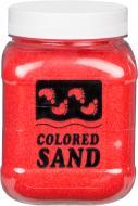 Пісок мармуровий Червоний 0,2-0,5 мм 650 г (3028)