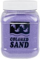 Пісок мармуровий Лавандовий 0,2-0,5 мм 650 г (4005)