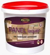 Лак панельний акриловий Protex напівмат 1 л 1кг прозорий