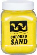 Пісок мармуровий Жовтий 0,2 -0,5 мм 650 г (018)