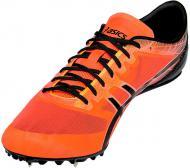 Кроссовки Asics Sonicsprint Elite G600N-0690-8 р.8 черный с оранжевым
