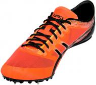 Кроссовки Asics Sonicsprint Elite G600N-0690-8H р.8,5 черный с оранжевым