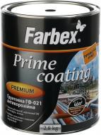 Грунтовка Farbex ГФ-021 серый мат 2,8кг