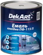 Емаль DekArt алкідна ПФ-115П білий глянець 2,8кг